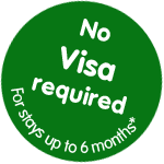 No Visa Required