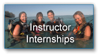 PADI Instructor Internship in the South Pacific